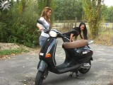 Vespa Revving Fun